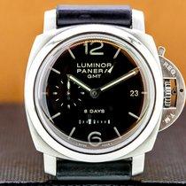 Panerai Luminor 1950 8 Days GMT Steel 44mm United States of America, Massachusetts, Boston