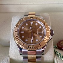 Rolex 16623 Gold/Steel 2006 Yacht-Master 40 40mm pre-owned
