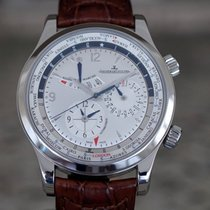 Jaeger-LeCoultre Master World Geographic Steel Silver United States of America, Massachusetts, Boston