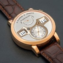 A. Lange & Söhne Rose gold 41.9mm Manual winding 140.032 pre-owned United States of America, California, Beverly Hills