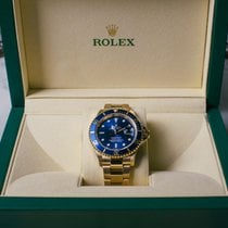 Rolex Submariner Date 16618 Very good Yellow gold 40mm Automatic Australia, newstead