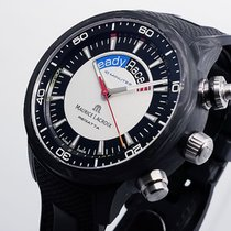 Maurice Lacroix Pontos pre-owned 45mm Black Chronograph Rubber