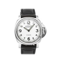 Panerai Luminor Base 8 Days Steel 44mm White Arabic numerals United States of America, Pennsylvania, Bala Cynwyd