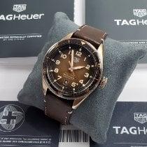 TAG Heuer Autavia Bronze 42mm Brown Arabic numerals
