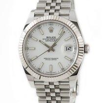 Rolex Datejust White gold White
