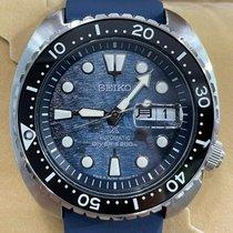 Seiko Prospex Steel 47mm Blue No numerals