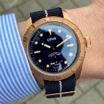 Oris Bronze 40mm Remontage automatique 01 401 7764 3185-Set nouveau