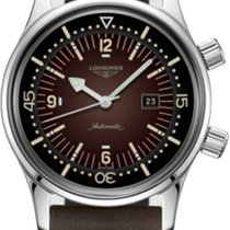Longines Legend Diver Steel 36mm Brown Arabic numerals United States of America, California, Moorpark