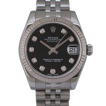 Rolex Lady-Datejust Acier 31mm Noir France, Paris