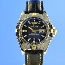 Breitling Galactic 41 Gold/Steel 41mm Black