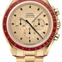 Omega Speedmaster 310.60.42.50.99.001 Nuovo Oro giallo 42mm Manuale Italia, san giuseppe vesuviano