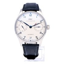 IWC IW500107 Steel Portuguese Automatic 42mm pre-owned