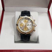 Breitling Chronomat Staal 39mm Zilver Geen cijfers