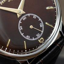 제니트 스틸 36mm 수동감기 4449862 중고시계