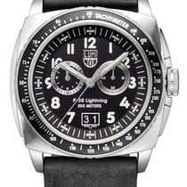 Luminox P-38 Lightning Steel 44mm Black Arabic numerals United States of America, New Jersey, Somerset