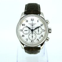 Longines Master Collection Steel Silver Arabic numerals