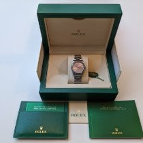 Rolex Oyster Perpetual 34 Steel Pink No numerals