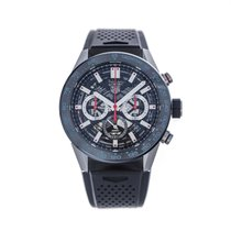 TAG Heuer Carrera new Automatic Chronograph Watch with original box and original papers CBG2A10.FT6168