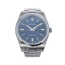 Rolex Oyster Perpetual 39 Steel 39mm Blue United States of America, Florida, Hallandale Beach