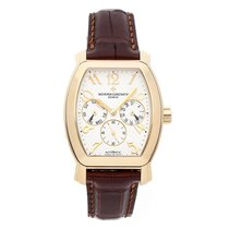 Vacheron Constantin Yellow gold Automatic Silver 35.6mm pre-owned Royal Eagle