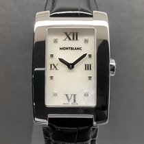 Montblanc Steel Quartz Mother of pearl No numerals 26mm pre-owned Profile