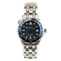 Omega Seamaster Diver 300 M Staal 36mm Blauw Arabisch