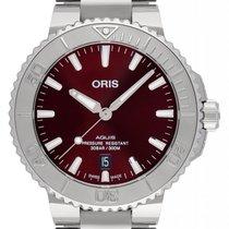 Oris Aquis Date Steel 41.5mm Red