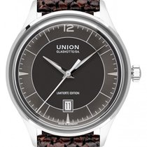 Union Glashütte Noramis Date Steel 40mm Black
