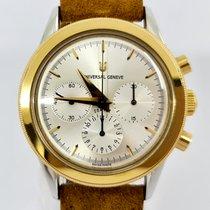 Universal Genève Золото/Cталь 37mm Механические 284.460 подержанные