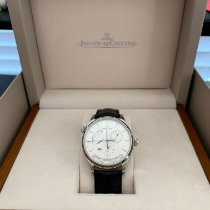 Jaeger-LeCoultre Master Geographic Steel 39mm Silver Arabic numerals United States of America, Florida, St. Petersburg