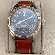 Oris Steel Automatic Blue Arabic numerals 40mm new Big Crown Pointer Date