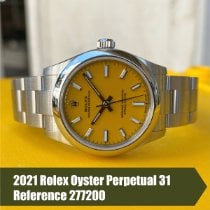 Rolex Oyster Perpetual 31 Steel 31mm Yellow No numerals United States of America, Florida, Coral Gables