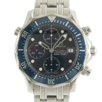 Omega Seamaster Diver 300 M Staal 41.5mm Blauw