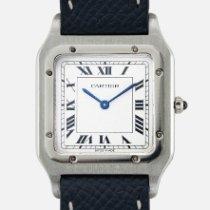 Cartier Платина Механические 27mm подержанные Santos Dumont