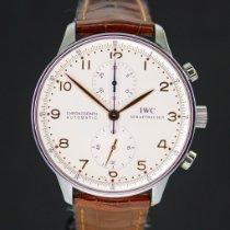 IWC Portuguese Chronograph Acero 41mm Plata Arábigos España, Barcelona