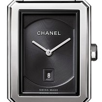 Chanel Steel Quartz H4878 new