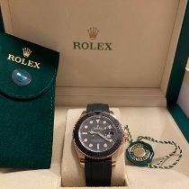 Rolex Yacht-Master 40 Rose gold 40mm Black No numerals
