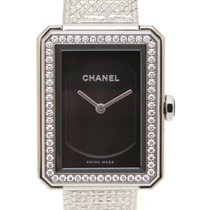 Chanel Steel 21mm Quartz H4877 pre-owned