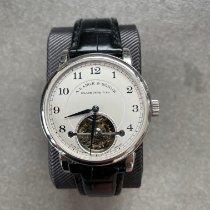 A. Lange & Söhne Platin Handaufzug Silber 39.5mm gebraucht 1815