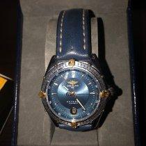 Breitling Antares Gold/Stahl 39mm Blau