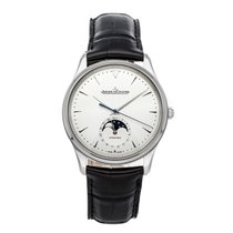 Jaeger-LeCoultre Master Ultra Thin Moon Steel 39mm Silver No numerals United States of America, Pennsylvania, Bala Cynwyd