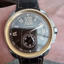 Cartier Calibre de Cartier W7100039 Très bon Or/Acier 42mm Remontage automatique