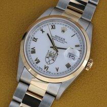 Rolex Datejust Gold/Steel 36mm White