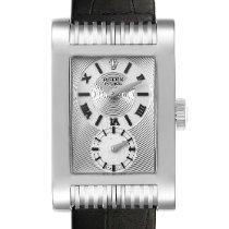 Rolex Cellini Prince Złoto białe 28mm Srebrny