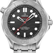 Omega Seamaster Diver 300 M Steel 42mm Black United States of America, New York, Airmont