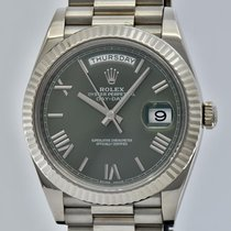 Rolex Day-Date 40 Or blanc 40mm Belgique, KNOKKE-LE-ZOUTE