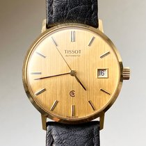 Tissot Yellow gold 34mm Automatic pre-owned
