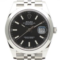Rolex (ロレックス) Datejust 新品 2021 自動巻き 正規のボックスと正規の書類付属の時計 126300
