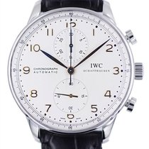 IWC Portuguese Chronograph Acciaio 41mm Argento Arabi Italia, Chieri (TO)