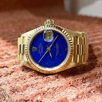 Rolex Lady-Datejust occasion 26mm Bleu Date Or jaune